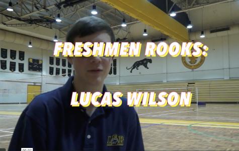 Lucas Wilson – Varsity Rookie