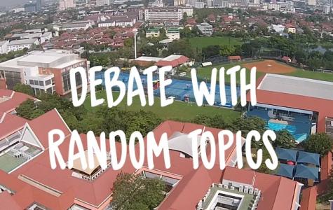 IASAS CC Feature: Debate with Random Topics