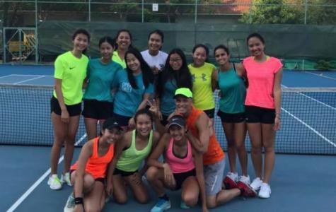 Pre-IASAS Girls Tennis
