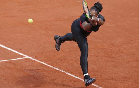 Serena William's battle of the sexes