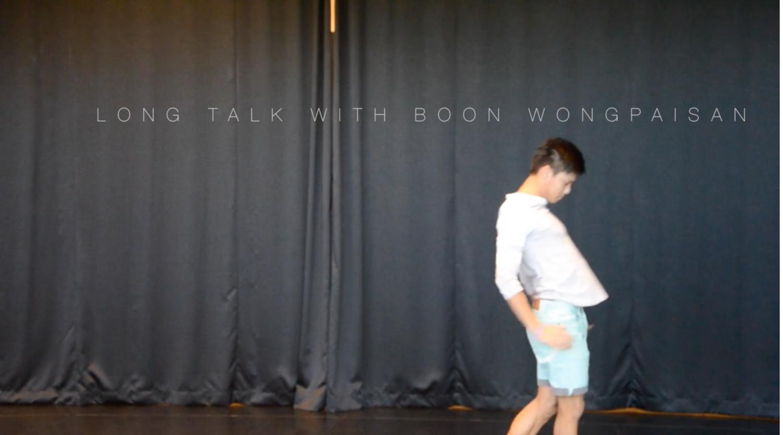 Long+Talk+with+Boon+Wongpaisan