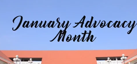 January Advocacy Month: Freedom for All