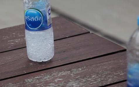 The IASAS Tennis Bottle Flip Challenge