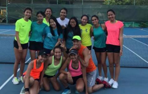 Girls Tennis IASAS Recap 2018