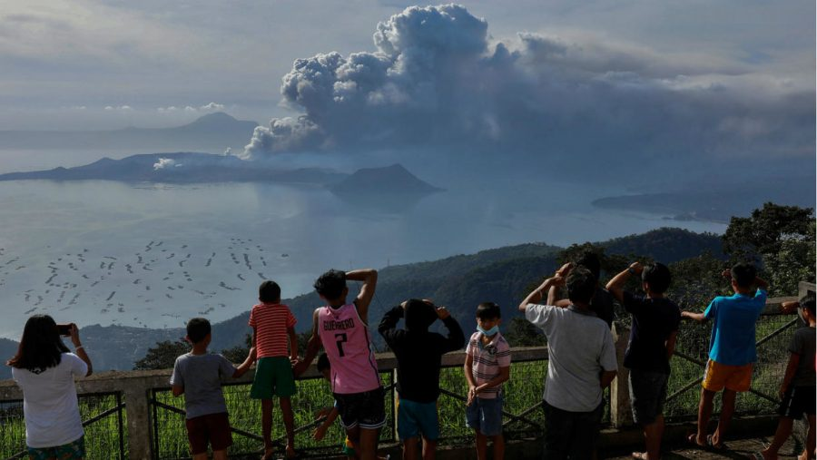 The Volcanic Crisis in the Philippines