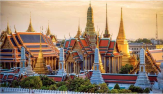 A Glimpse of Bangkok by Chinnapong Kulmanochwong