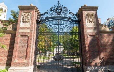 Boston, Massachusetts, USA - September 5, 2015: Picture of the Harvard Campus in Cambridge