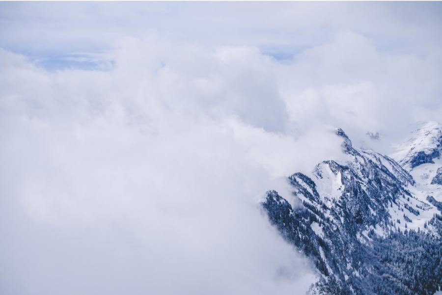 Alone On Top Of Mount Everest by Kuya Kovitchindachai